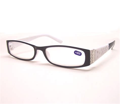 rhinestone reading glasses plastic frame r9066