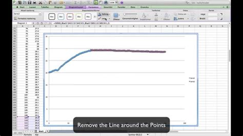 excel tutorial how to graph excel tutorial dividing data into two sections in a