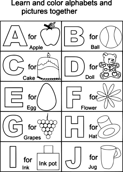 s simple alphabet coloring book black white a z coloring book s simple coloring book volume 1 books for abc color sheets 86 for your coloring