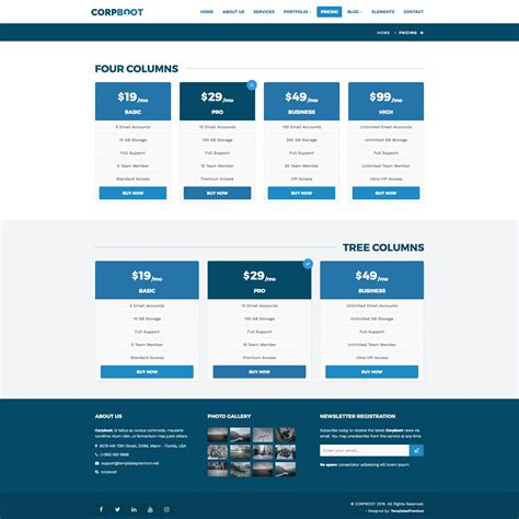 themeforest site templates corpboot corporate website template by rafamem themeforest