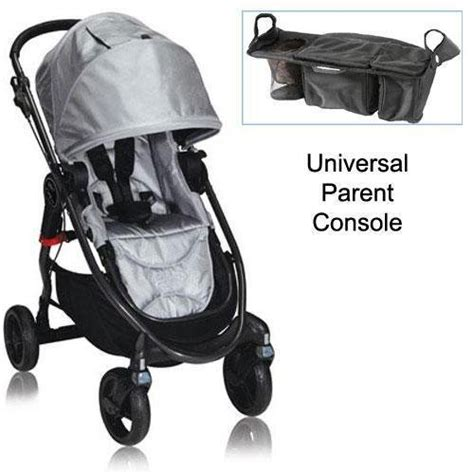 baby jogger parent console baby jogger bj21312 city versa stroller in silver with