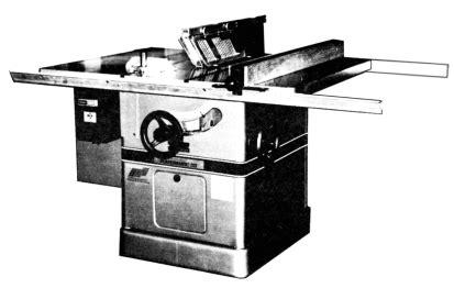 powermatic 72 arbor table saw operator parts manual 0534