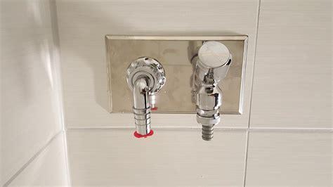 waschmaschinenanschluss badewanne neubaubad in rostock dierkow mit wand wc im schacht mit