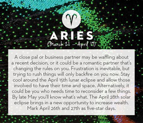 new year horoscope for aries april 2014 horoscopes chatelaine