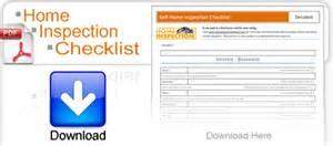 Self home inspection checklist free pdf