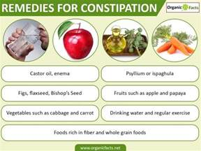 home remedies for constipation organic facts