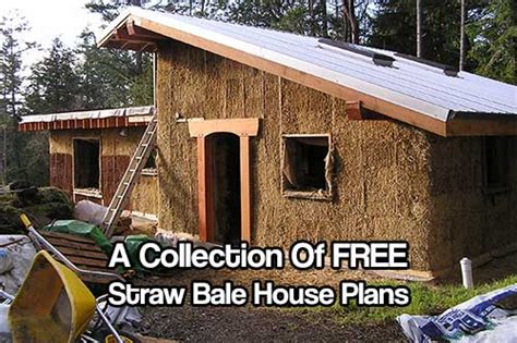 Free Straw Bale House Plans Lots Of Free Straw Bale House Plans Shtf Prepping Central