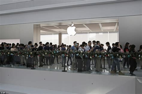 where to buy fans in stores thousands of apple fans queue outside stores for iphone x