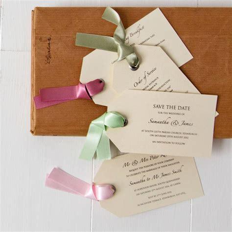 Wedding Favors Luggage Tags by Luggage Tag Wedding Invitation By Twenty Seven