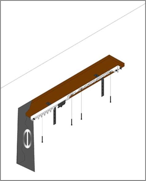 Ceiling Hardware by How To Install Ceiling Mounted Hardware