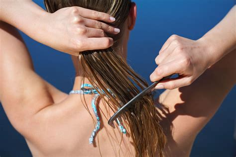 how to keep your hair behind your back three ways to keep your hair from hating your summer