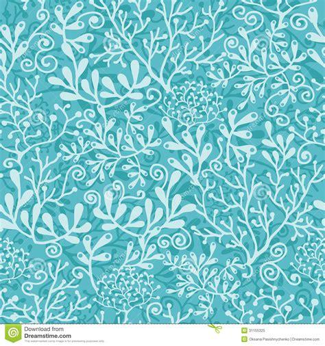 underwater pattern background underwater plants seamless pattern background royalty free