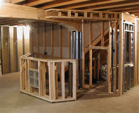 the steps to framing basement walls ergonomic office