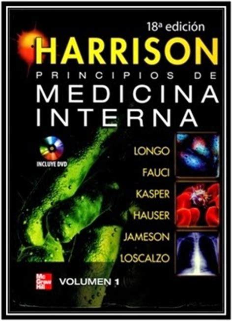 medicina interna harrison jx moreno medicina interna de harrison 18 edici 243 n gratis