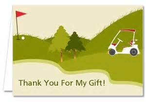 retirement thank you cards golf cart thank you notes