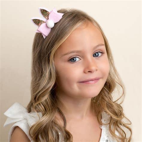 Sweet Bunny Hairclip bunny ears hair clip 7cm childrensalon