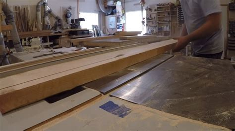 roughcut woodworking building a custom door with trapezoid glass accents