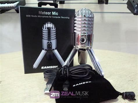 Usb Jogja jual beli samson meteor usb microphone condenser zeal