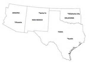 southwest region of the united states map southwest region mr l s 4th grade