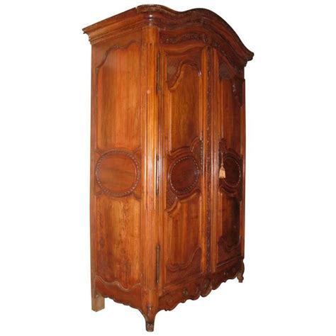 louis armoire french louis xv carved walnut armoire 18th century for