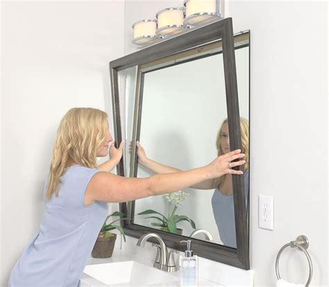 bathroom mirror frame kits 40 best mirrormate how it works images on pinterest