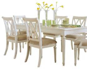 Painted Dining Room Set American Drew Camden Light 8 Leg Dining Room Set In White Painted Traditional Dining