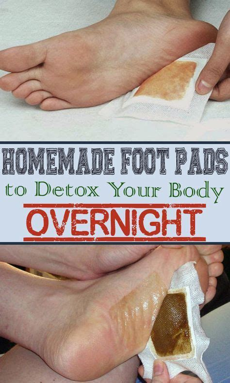 Make Your Own Foot Detox by Best 25 Foot Pads Ideas On Detox Foot Spa