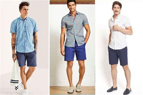 gaya pakaian cowok 2015 tips memilih celana pendek pria mall online indonesia