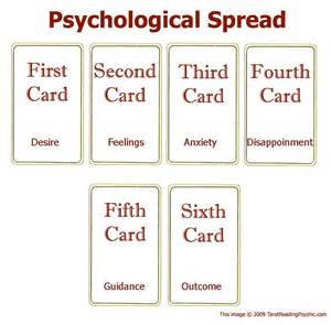tarot spreads the psychological tarot card spread tarot reading psychic psychological