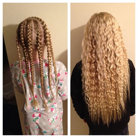 easy overnight hairstyles for school easy overnight waves no heat and they last all day
