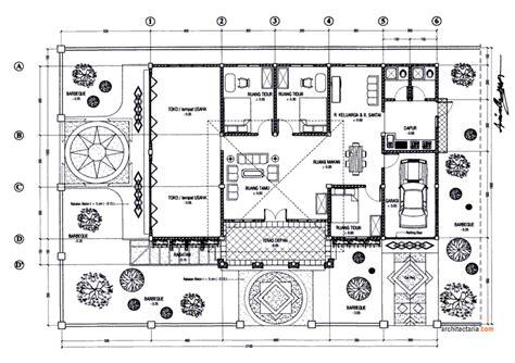 gambar denah rumah mewah lantai 1 2017 desain rumah minimalis 2018