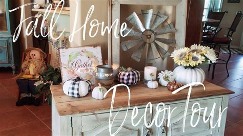 fall home decor tour 2018 welcome to my home freshen