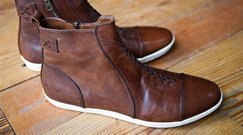 Handmade Shoes - helm handmade boots sidewalk hustle