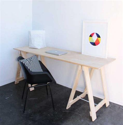 trestle office desk economy style 6 trestle desks for the new year remodelista