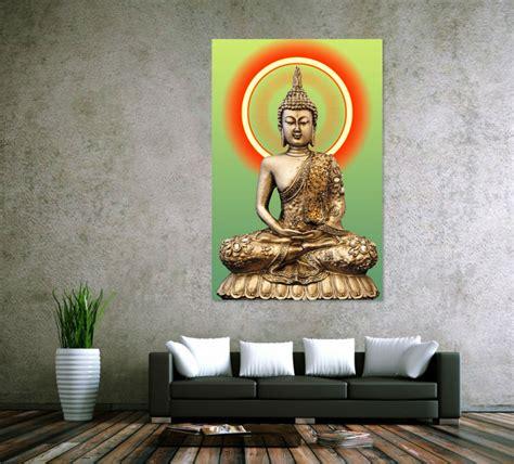 buddha paintings for living room hd print golden buddha painting picture living room wall decor modern home decoration print