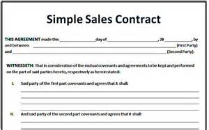 Sales Agreement Template Word by 6 Sales Agreement Templates Excel Pdf Formats