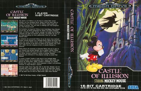 castle of illusion starring mickey mouse sega mega genesis