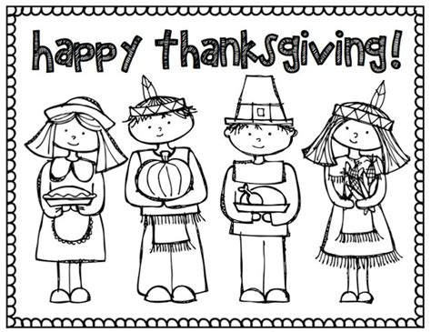 thanksgiving coloring pages for first grade thanksgiving coloring page teaching pinterest