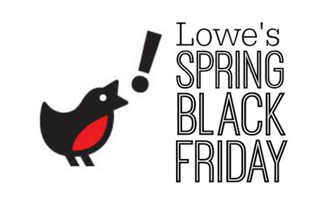 lowe s home improvement black friday sale