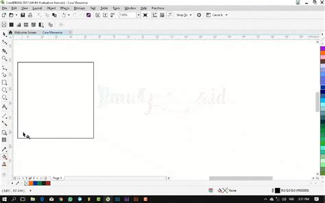 tutorial pisah warna coreldraw tutorial coreldraw dasar cara memberi warna pada objek