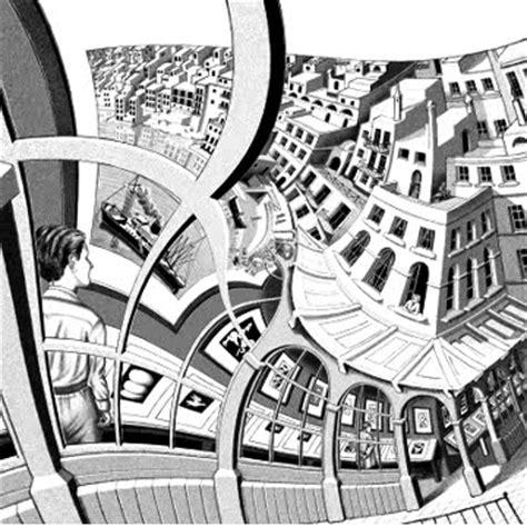 artist escher biography m c escher biography artwork lithographs animations