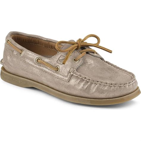 metallic shoes womens sperry top sider a o metallic shoes s evo outlet