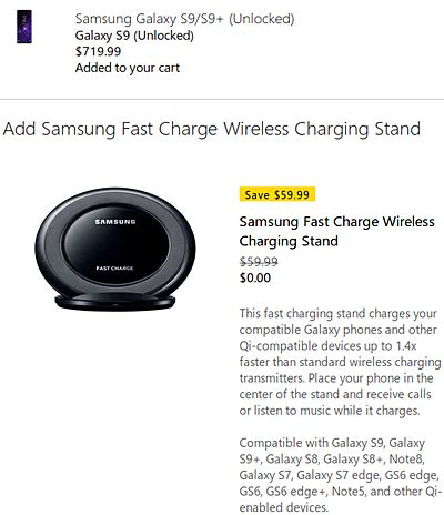 Promo Samsung Wireless Charger Stand Fast Charge Galaxy S7 Edge Bpd deal free fast charge wireless charging stand with samsung galaxy s9 s9 gsmarena news