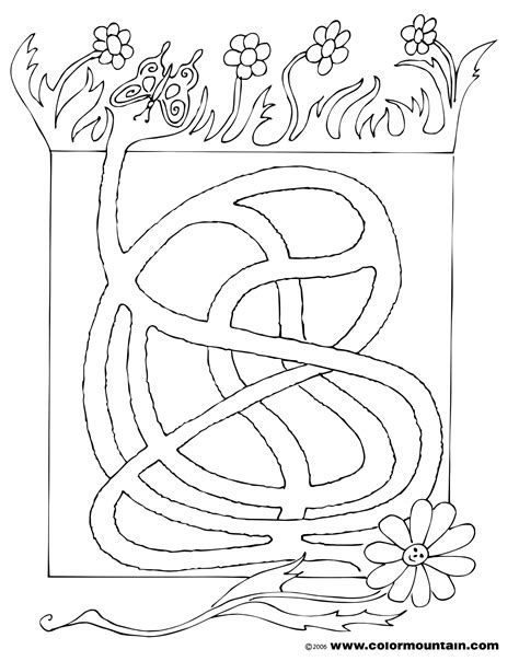 Maze Coloring Pages Large Selection Of Free Butterfly Activity Coloring Pages