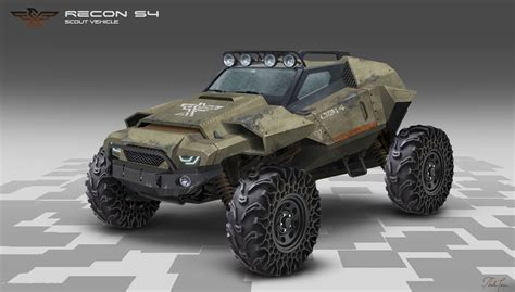 Future Jeep Vehicles by Artstation Scout Vehicle Torzan Future