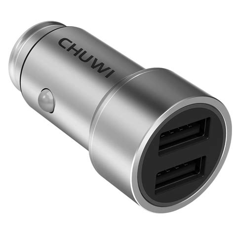 Sale Chuwi Power Bank Charge 3 0 10050mah White Berkualitas chuwi c 100 smart car charger 5v 2 4a dual usb fast charge