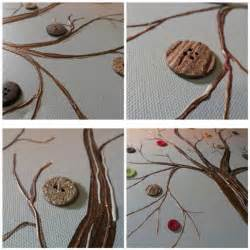 diy crafts for home decor button tree crafts work