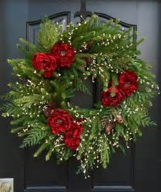 25 best ideas about artificial christmas wreaths on
