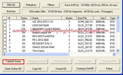 Lu Sorot Besar cara install ps2 catatan yang tertunda