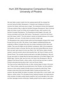 Harlem Renaissance Essay by Essay On The Renaissance